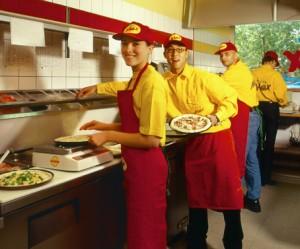 das Team von Pizza Max